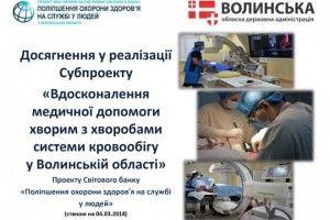 Волинь прозвітувала щодо впровадження субпроекту перед МОЗ України та Світовим банком