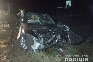Вночі на Волині перекинулося авто: загинула неповнолітня дівчина (Фото)