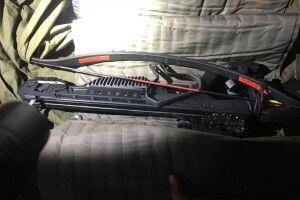 З арбалетом та ножем намагався потрапити в Україну (Фото)
