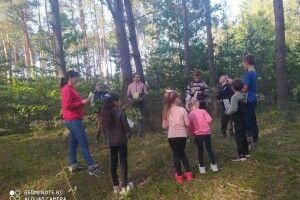 На Любешівщині дітей навчали цінувати довкілля