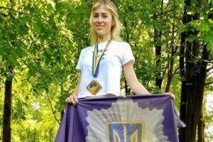 Патрульна з Ковеля Ірина Зінчук подолала 76 кілометрів за 17 годин 50 хвилин