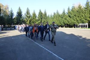 Понад 100 волинян урочисто провели на службу в Збройні сили України