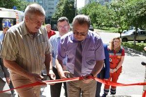 У Луцьку відкрили черговий пункт екстреної допомоги