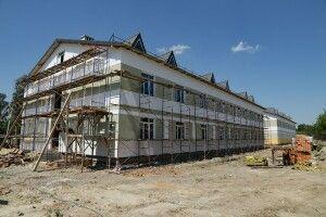 На Волині триває будівництво гуртожитків покращеного планування для військовослужбовців