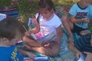 У волинській ОТГ для дітей влаштували «Книжковий пікнік»