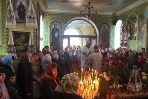 Митрополит Луцький і Волинський Михаїл храмував у Чарукові