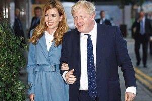 Від хворого накоронавірус прем'єра Британії поїхала вагітна дружина