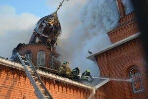 На Чернігівщині на Водохреще згоріла церква
