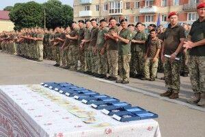Бійці 14 бригади повернулися із зони бойових дій на місце дислокації