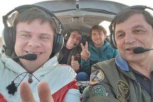 У встановленні рекорду Дмитрові Комарову сприяв навіть недіючий волинський аеродром