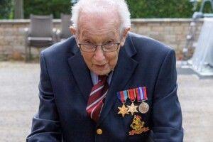 100-літній ветеран війни зібрав 35мільйонів для медиків