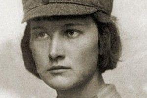 Перша у світі жінка, офіційно зарахована  на військову службу у званні офіцера, була українкою