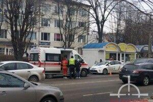 У Луцьку зіткнулися маршрутки: постраждали четверо пасажирів (Фото)
