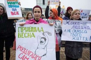 У Києві 8 березня пройде Марш жінок. Традиціоналісти теж прийдуть, щоб «врятувати феміністок»