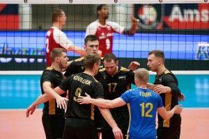 В 1/8 Чемпіонату Європи з волейболу збірна України зіграє з бельгійцями