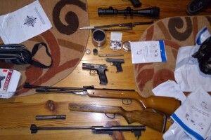 На Волині викрито торгівця зброєю (ФОТО)