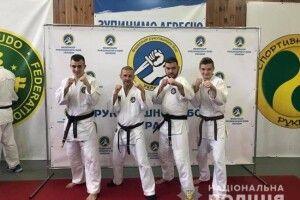 Волинський поліцейський став володарем «чорного пояса»