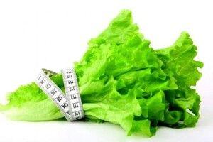 Буяє зелень на городі.  А на столі?