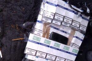 Прикордонники Луцького загону виявили цигарки у вагоні з рудою (Фото)