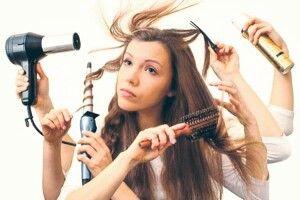 Жирне волосся потребує особливого догляду