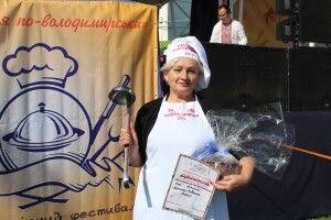На фестивалі у Володимирі обрали кращу страву міста