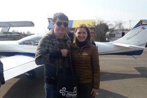Дмитро Комаров приземлився поблизу Луцька (Фото)