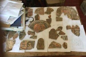 У давньому волинському містечку знайшли князівські кахлі