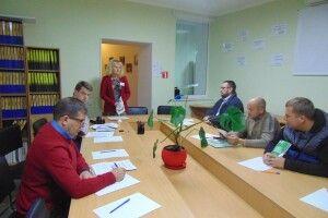 У Луцьку учасникам АТО розповіли, як боротися з рейдерством