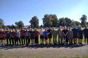 У громаді на Волині провели спартакіаду для майбутніх призовників (Фото)