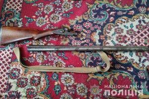 У мешканця Володимир-Волинського району поліцейські вилучили зброю та боєприпаси
