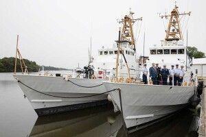 Американці подарували Україні два патрульні кораблі