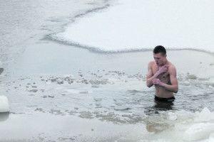 В освяченій воді — не застудишся