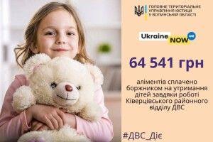 Батько з Ківерець заплатив 64 тисячі гривень аліментів і 28 тисяч – штрафу