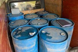 Податкова поліція вилучила 1800 літрів спирту