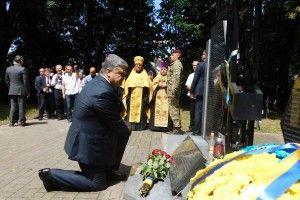 Петро Порошенко: «Мірятися кров'ю народів – ганебно і неприпустимо»