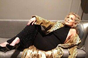 Шерон Стоун розповіла, як вчилася ходити після перенесеного інсульту
