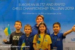 Львівська школярка стала чемпіоном Європи з шахів