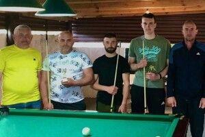 Хто переміг на більярдному турнірі в Любешові