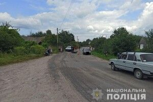 На сільській вулиці обірвалося життя 19-річного мотоциклиста (Фото)
