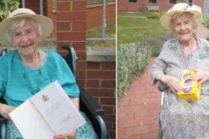 107-річна жінка, яка пережила коронавірус, розповіла про свій секрет довголіття