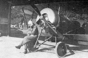 Останній бій французького пілота на Волині