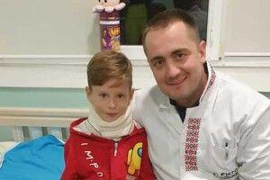 На Волині вдалося врятувати 7-річного хлопчика від інвалідності