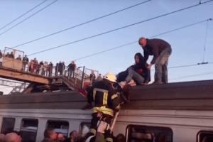 У Києві внаслідок удару струмом на даху електрички підліток отримав опіки 45% тіла