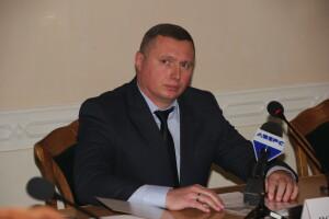 Перша нарада нового голови обласної державної адміністрації Юрія Погуляйка