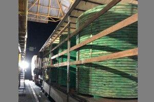 У «Ягодині» затримали велику партію сигарет в дерев'яних конструкціях (Відео)