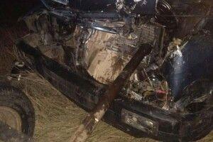 На Рівненщині легковик протаранив підводу. Наслідки ДТП жахливі (Фото)