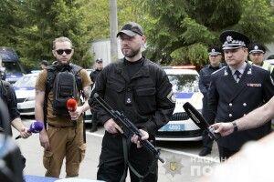 Відбулась презентація нового озброєння поліції