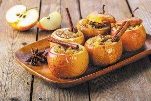 Печені яблука— навсі смаки