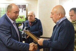 Волинським лісівникам-учасникам АТО вручили нагороди