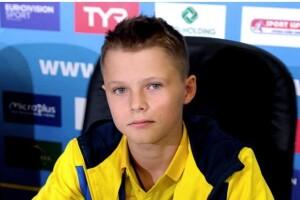 13-річний українець Олексій Середа став Чемпіоном Європи зі стрибків у воду (Відео)